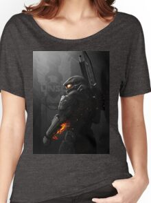 Halo 4 Master Chief - United He Stands Women's Relaxed Fit T-Shirt