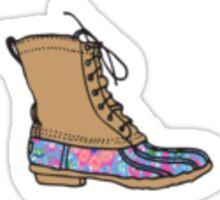 Lilly Bean Boot Sticker