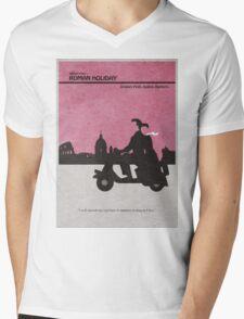 Roman Holiday Mens V-Neck T-Shirt