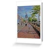 Decatur Street Greeting Card