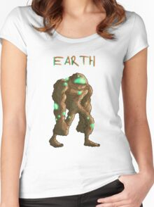 earth... Women's Fitted Scoop T-Shirt