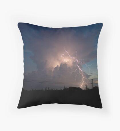 Lightning Bugs 2 Throw Pillow