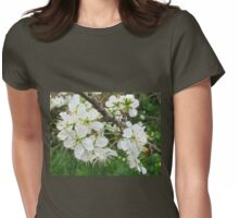 Pear Tree Blossom Womens Fitted T-Shirt