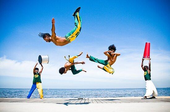 Capoeira - Warriors of Brazil by John Englezos