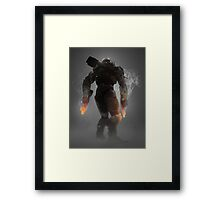 Halo Master Chief Weapons Hot Framed Print