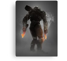 Halo Master Chief Weapons Hot Canvas Print