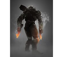 Halo Master Chief Weapons Hot Photographic Print
