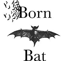 BORN BAT Photographic Print