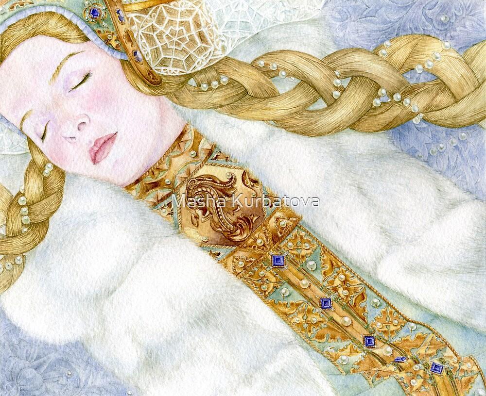Snow Maid by Masha Kurbatova