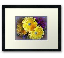 Chrysanthemums - Always delightful Framed Print