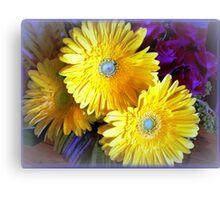 Chrysanthemums - Always delightful Canvas Print