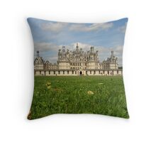 Chateaux Chambord Throw Pillow
