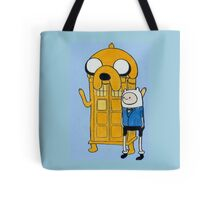 Doctor Who/Adventure Time Tote Bag