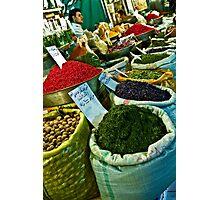 Spice Bazaar - Isfahan - Iran Photographic Print