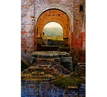Lithgow NSW - Remains of the Ferranti Blast Furnace No 1 Photographic Print