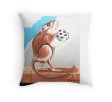 HAVING A BALL Throw Pillow