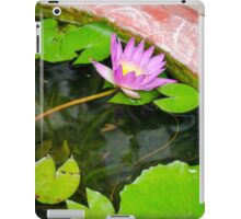 Purple Lotus In Bangkok Street iPad Case/Skin