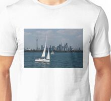 Summer Sailing Postcard from Toronto Unisex T-Shirt