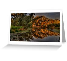 And His Ghost May Be heard #3 - Wonga Wetlands, Albury - The HDR Experience Greeting Card