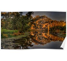 And His Ghost May Be heard #3 - Wonga Wetlands, Albury - The HDR Experience Poster