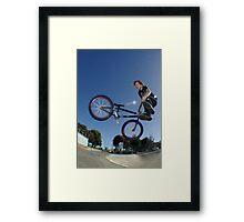 360 whip Framed Print