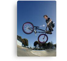 360 whip Canvas Print