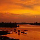 Glorious Sabah Sunset by Peter Doré