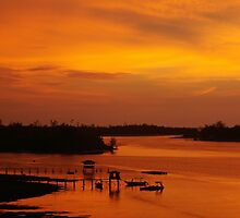 Glorious Sabah Sunset by Peter Doré