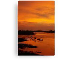 Glorious Sabah Sunset Canvas Print