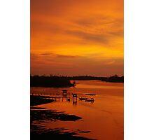 Glorious Sabah Sunset Photographic Print