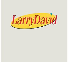 Larry David - Seinfeld by uhmdesigns