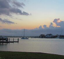 Wrightsville Beach At Dusk by Cynthia48