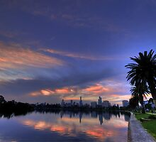 Albert Park Lake, Melbourne by Ben McCarthy