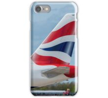 British Airways Airbus A320 tail livery iPhone Case/Skin