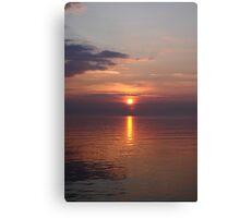 Sunrise over the Irish Sea Canvas Print