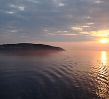 Sunrise over the Isle Of Man by Nick Barker