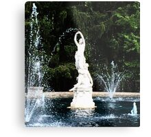 Dancing With the Statuary Metal Print