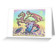 master of time - m. a. weisse Greeting Card