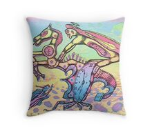 master of time - m. a. weisse Throw Pillow