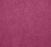 Leather Texture, Leather Background - Pink by sitnica