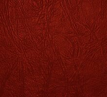 Leather Texture, Leather Background - Red by sitnica