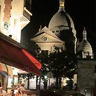 Smart Car speeding through Paris  by Smarney