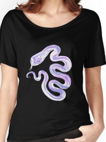 White Snake Women's Relaxed Fit T-Shirt