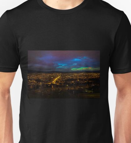 Late Dusk View Of Cuenca From Turi Unisex T-Shirt