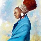 Zulu woman by Santamaria