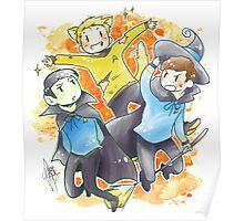 Star Trek - Triumvirate Halloween Poster