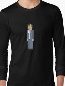 GTA V - 8-Bit Michael Character Design Long Sleeve T-Shirt