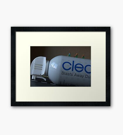 Using the Internet to book flights on Can A Da Air may not have been the wisest choice Framed Print