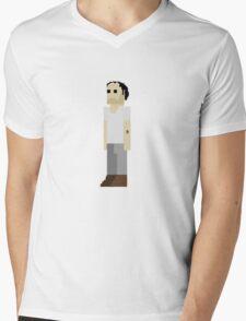 GTA V - 8-Bit Trevor Character Design Mens V-Neck T-Shirt