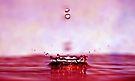 red splash by Angel Warda